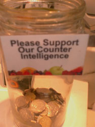 Please support our counter intelligence